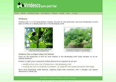 viridesco environmental Web Design Edinburgh